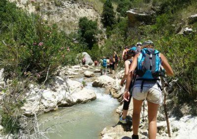trekking fluviale